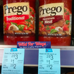 Prego Italian Sauces just $.63 each!