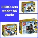 LEGO Sets under $5 each!