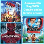 Amazon Blu Ray/DVD Combo Packs for $10 or less!