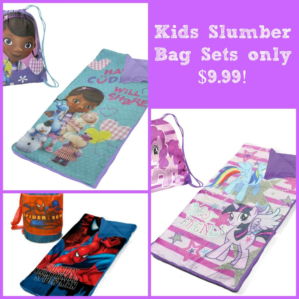 Bi Lo Stores >> Children's Character Sleeping Bag sets only $9.99!