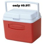 Rubbermaid Cooler 68% off!