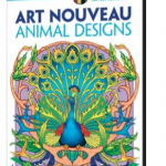Adult Animal Designs Coloring Book only $2.99!
