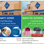 Sam's Club Membership Deal: almost $100 in FREEBIES!