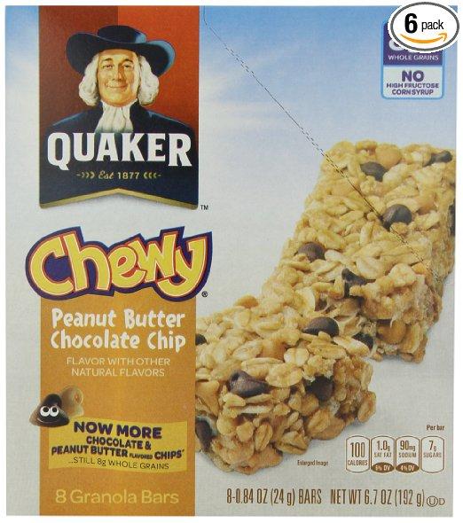 Quaker granola bar coupons