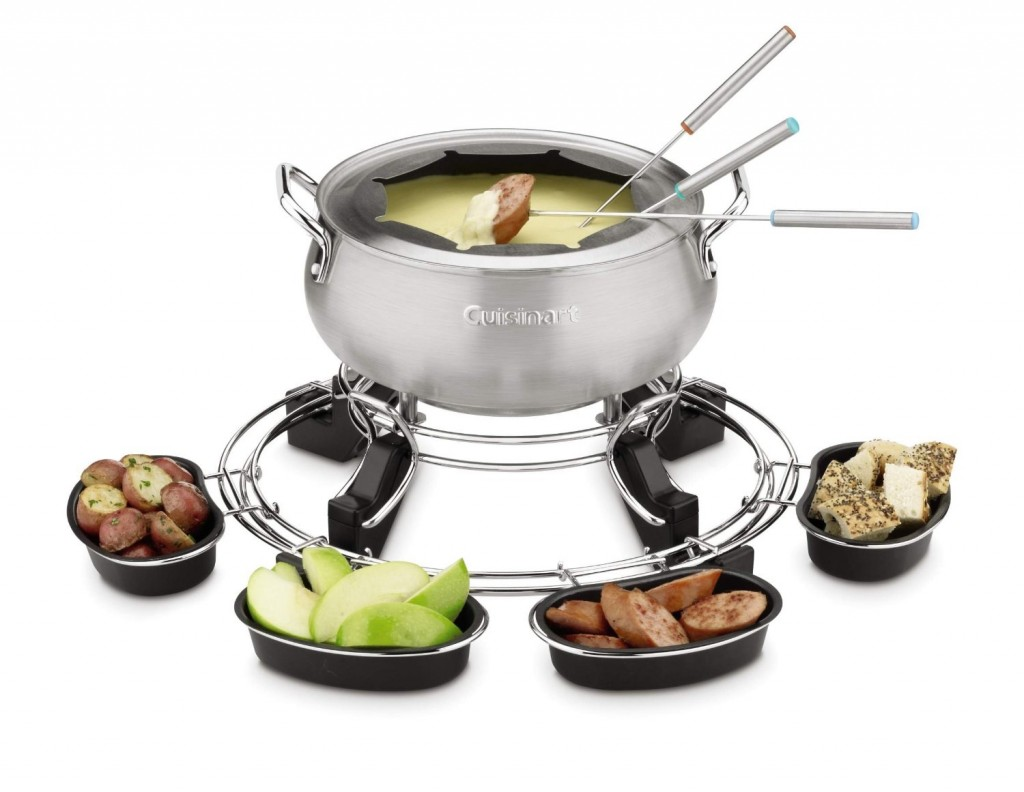 cuisinart electric fondue maker 75 off. Black Bedroom Furniture Sets. Home Design Ideas