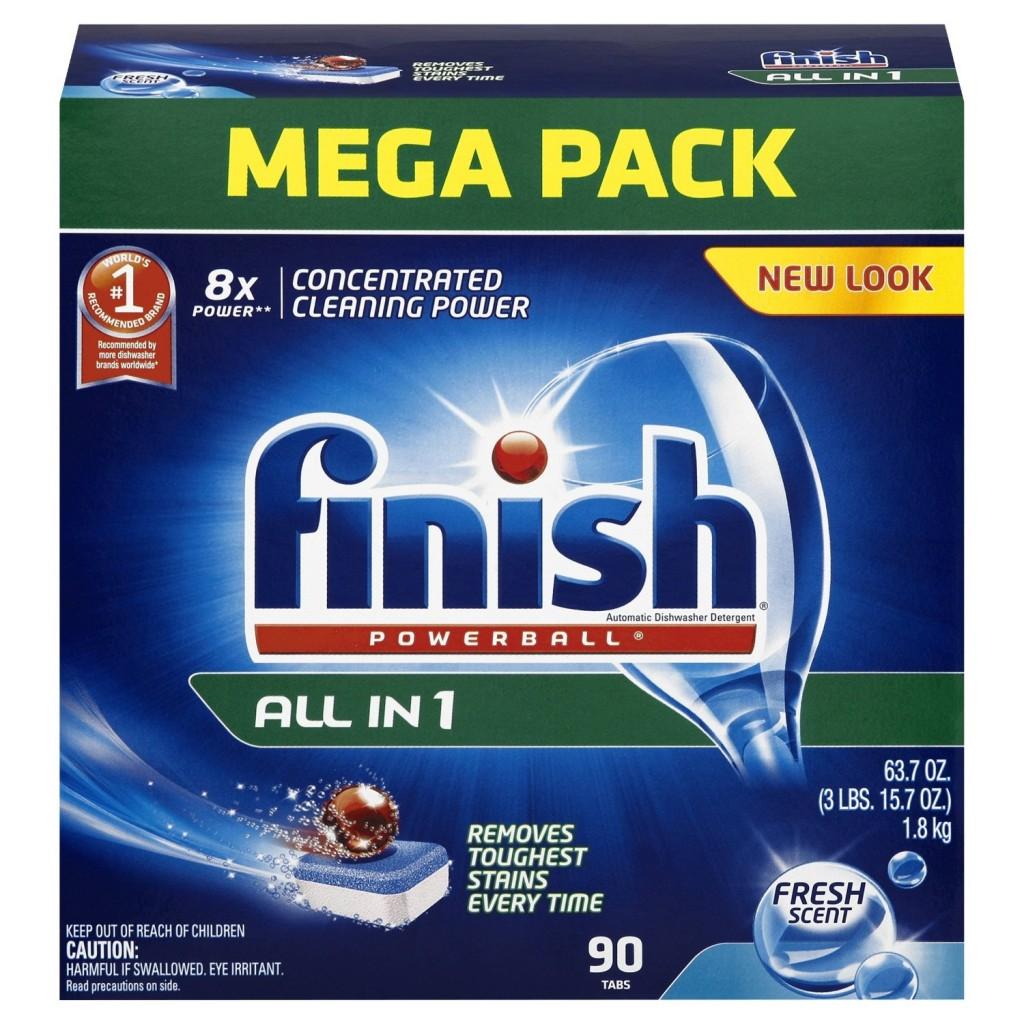 how to use finish dishwashing tablets