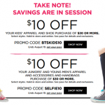 Kohl's Back to School Shopping Coupons!