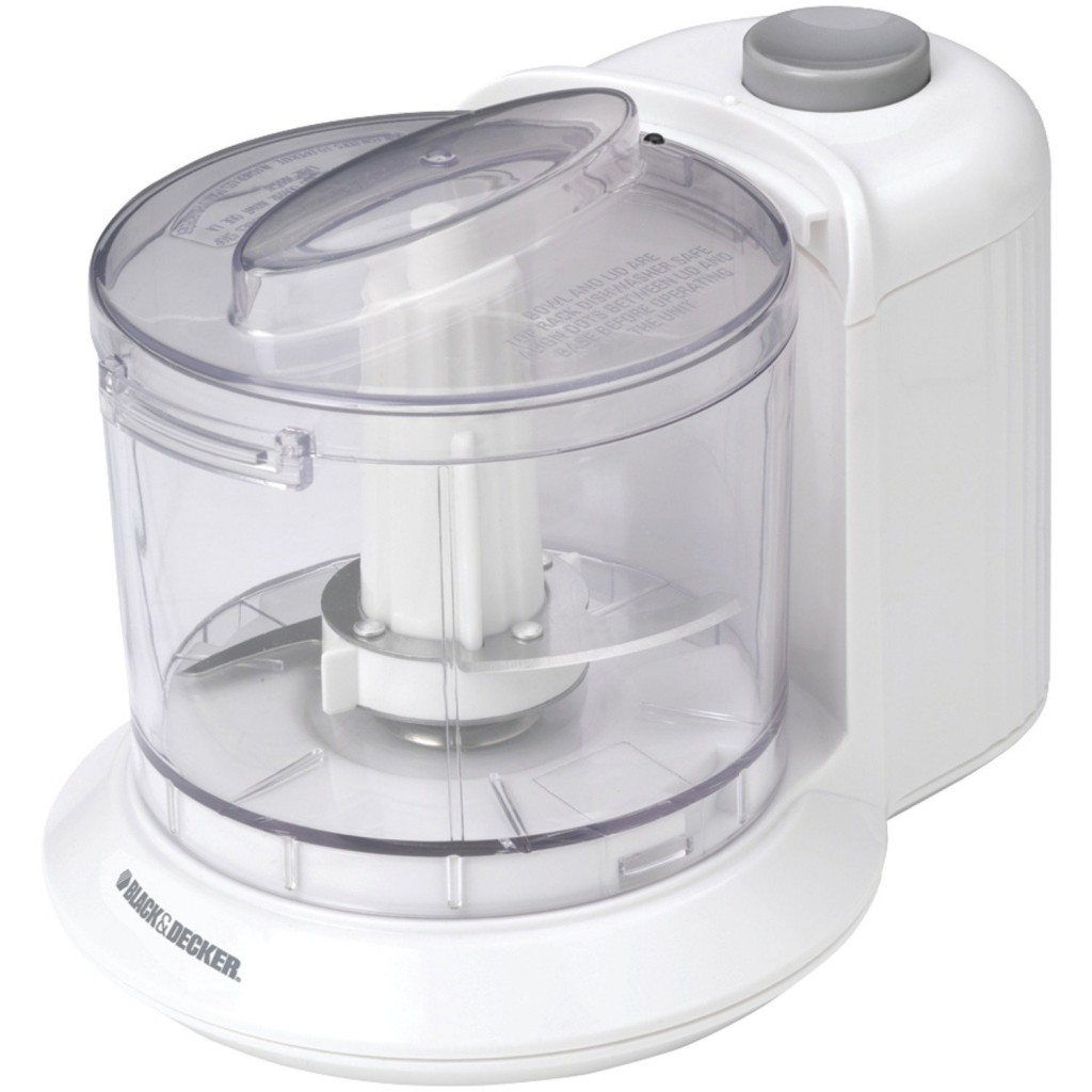 Black Amp Decker One Touch Electric Chopper On Sale