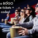 Fandango BOGO free movie tickets deal!