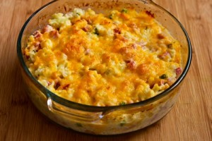 ham-cauliflower-cheese-bake