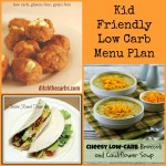 Menu Plan Monday: kid friendly low carb recipes!