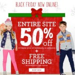 Gymboree Black Friday sale is LIVE!