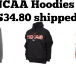 NCAA Hoodies Sale:  2 for $34.80 shipped!