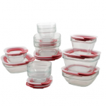 Rubbermaid Easy Find Lid Glass Food Storage Set 33% off!