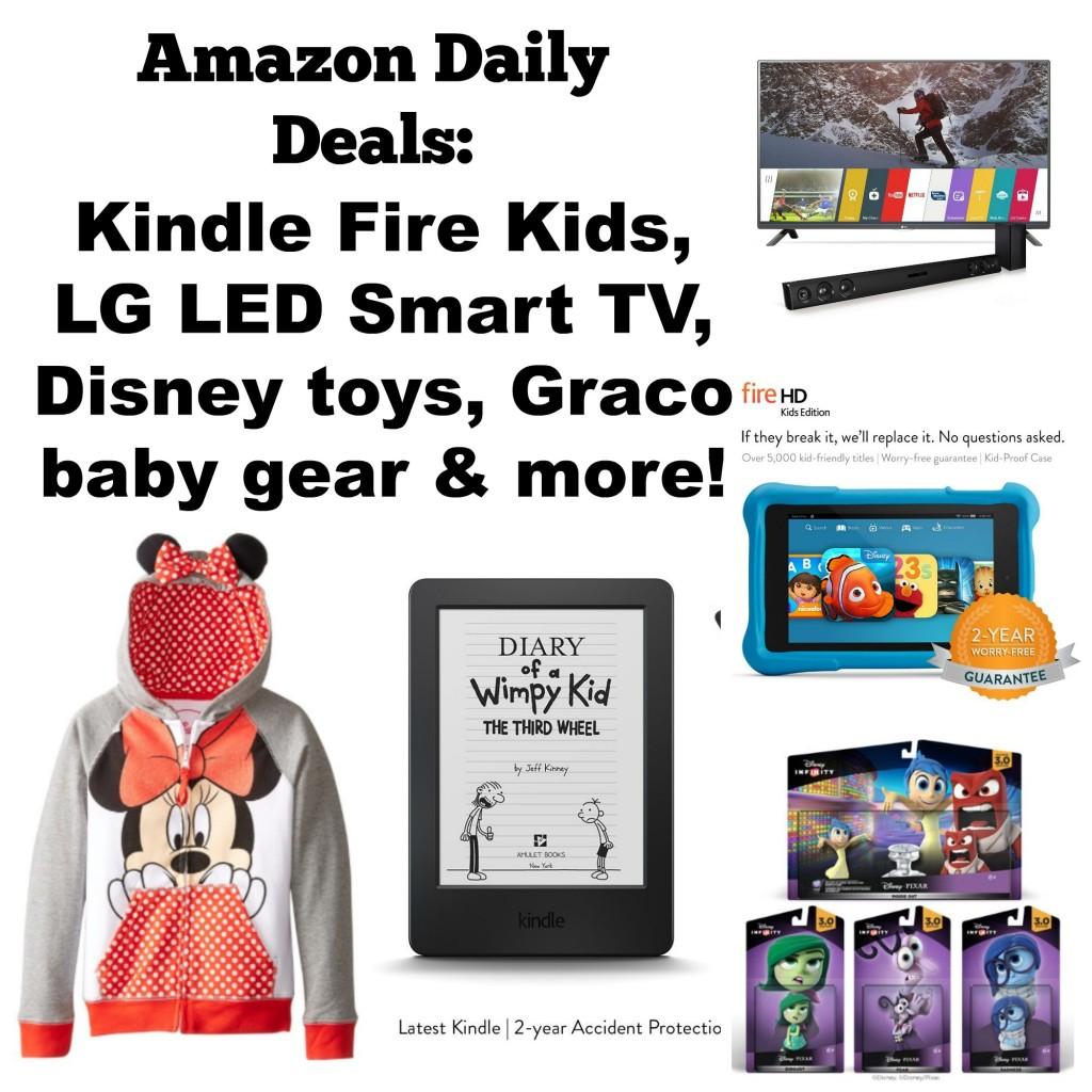 Amazon daily deals blog