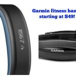 Garmin Vivofit Fitness Band 62% off!