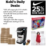 Kohl's Cyber Week Deals:  Keurig, Nike & more!