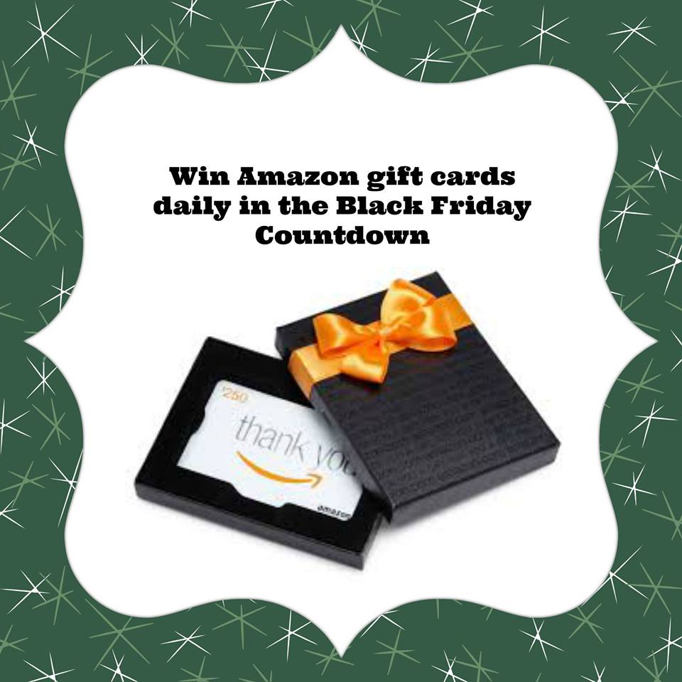 Win Amazon Gift Cards in the Countdown to Black Friday Giveaway!