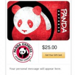 Panda Express Gift Card Deal & Coupon Codes!!