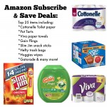 Amazon Subscribe & Save Deals:  Paper Towels, toilet paper & more!