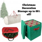 Elf Stor Premium White Holiday Christmas Tree Storage Bag 86% off!