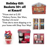 Holiday Gift Baskets 50% off at Kmart!