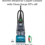 Hoover SteamVac Carpet Cleaner with Clean Surge 57% off!