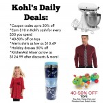 Kohl's Daily Deals: holiday dresses, toys, KitchenAid & more!