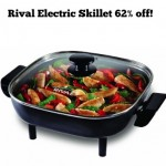 Rival Electric Skillet 62% off!