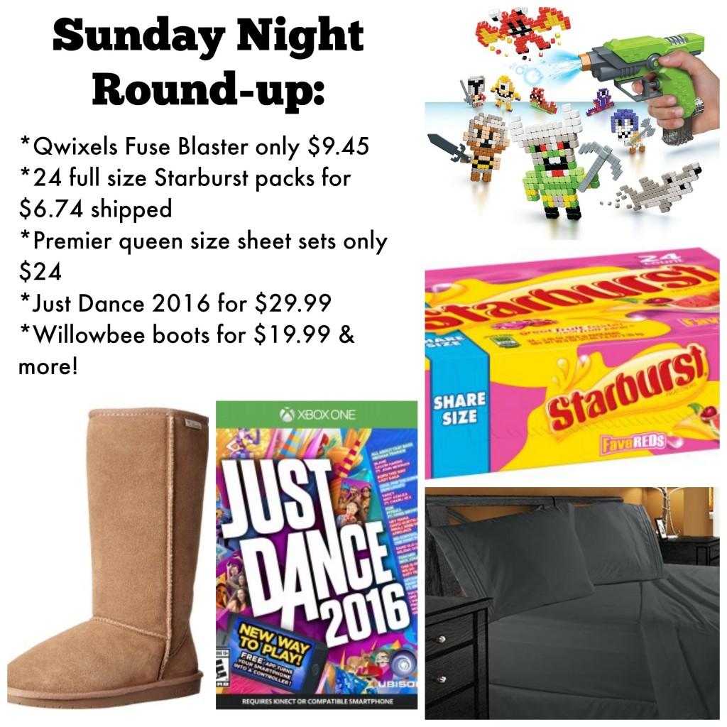 Sunday night deals
