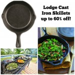 Cast Iron Skillets up to 60% off!