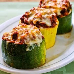 mozzarella-stuffed-zucchini-cups