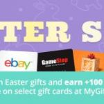 Earn a Swagbucks bonus with the MyGiftCards Plus Easter Sale!
