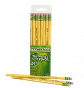 ticonderoga-pencils