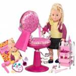 Our Generation Phoebe Hair Salon set only $27.49!