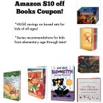Amazon $10 off $25 Books Coupon Ends TONIGHT!
