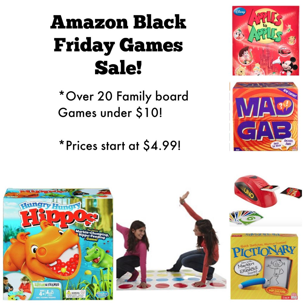 Bi Lo Stores >> Amazon Family Board Games Under $10!