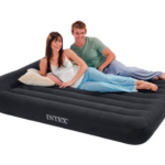 Intex Queen Airbed with Pillow and Pump only $19.99!