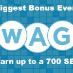 Earn a 700 SB bonus with April Swago!