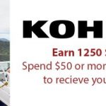 Get 25% back from Swagbucks when you spend $50 at Kohl's!