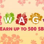 Earn a 500 SB bonus with August Swago!
