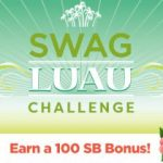 Earn 100 SB in the Swag Luau Team Challenge!