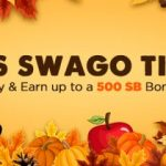 Get more free gift cards during November Swago with Spin & Win!