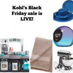 Kohl's Black Friday sale is live NOW!