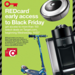 Target Black Friday Sale live at midnight for Red Card Holders!