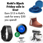 Kohl's Black Friday Ad is live now!