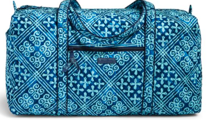 Vera Bradley Large Duffel Travel Bag Volume