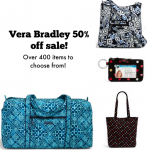 Vera Bradley 50% off Black Friday sale!