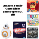 Amazon Family Game Night Deals!