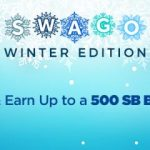 January Swago with Spin & Win
